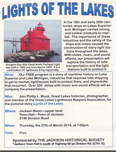 Lights of the Lakes - Jackson Historical Society
