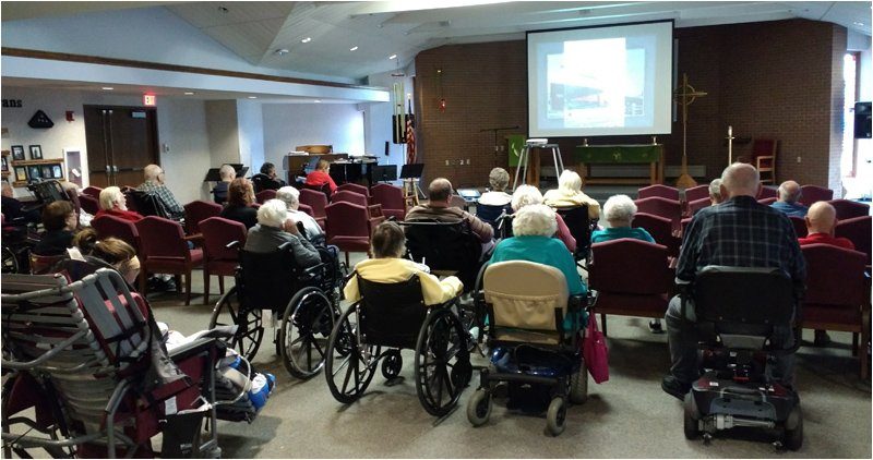Assisted Living Residents at a Wisconsin Senior Community