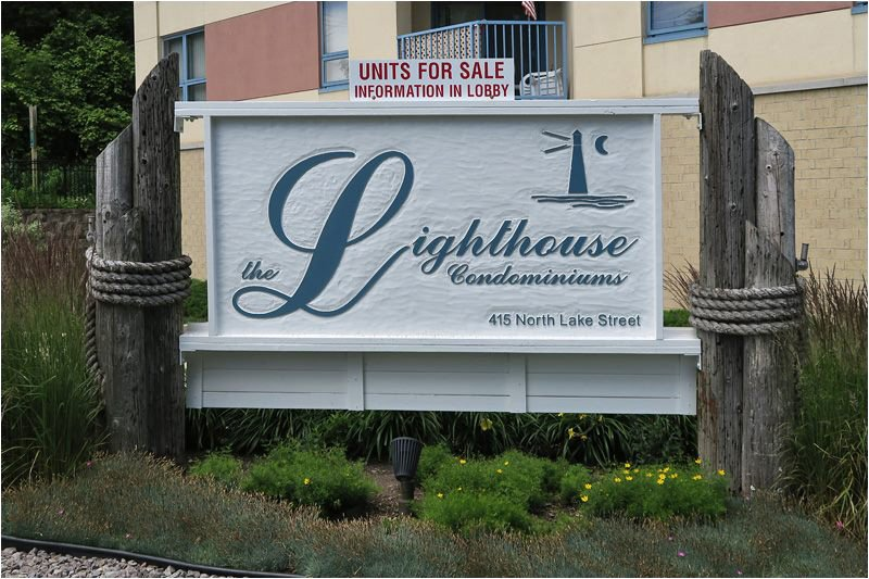 Lighthouse Condominiums Sign