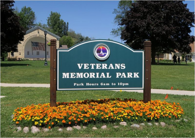 Veterans Memorial Park and Band Shell
