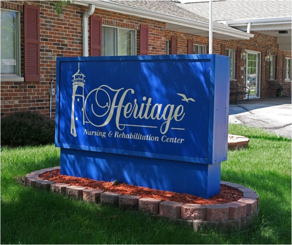 Heritage Nursing & Rehab Center Sign