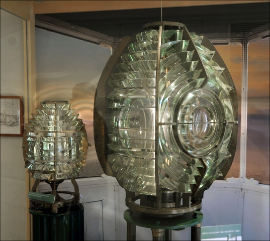 North Point Light Station – Fresnel Lenses