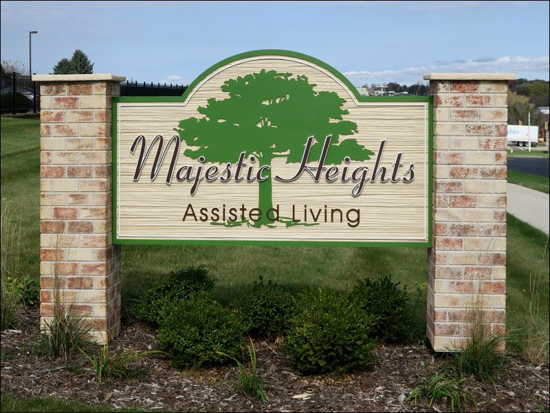 Majestic Heights Sign