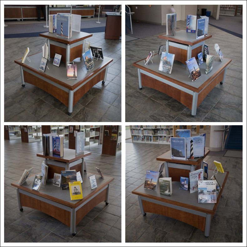 Lighthouse Book Display