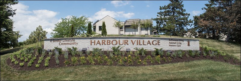 Harbour Village Property Entrance