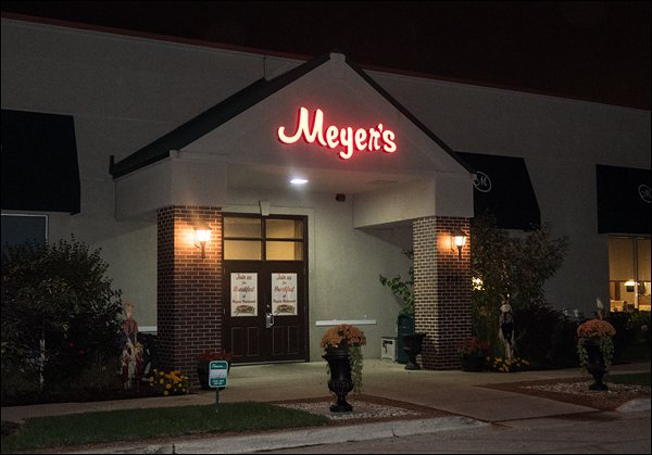 Meyer's Restaurant Entrance