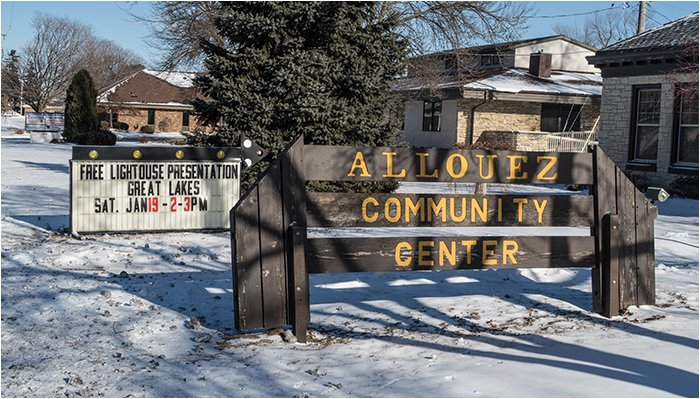 Allouez Community Center Signs