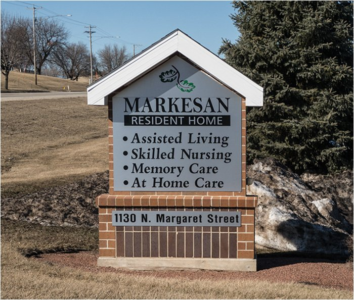 Markesan Resident Home Sign