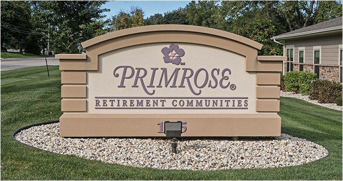Primrose Retirement Communities - Sign
